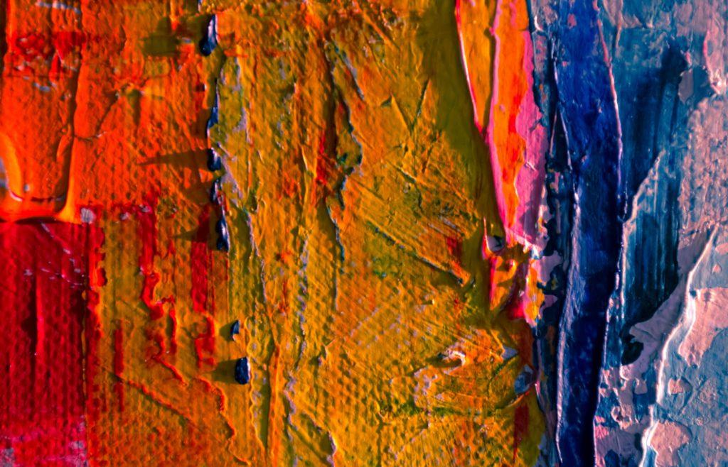 krwista abstrakcja